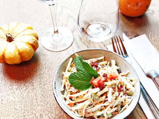LES VAILLANT ENTREE - Coleslaw (Carottes Pomme Céleri Rave & Branche Raisins Secs)