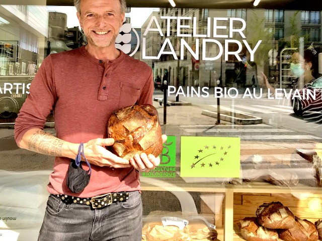 LES VAILLANT Stéphane Vaillant & le Pain de l'Atelier Landry