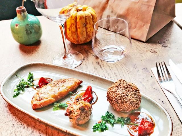 LES VAILLANT TAPAS Trio - Falafel Champignon Farci & Mini-Chausson aux Légumes